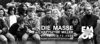 2020-10-01 AUSSTELLUNG Die Masse – Banner