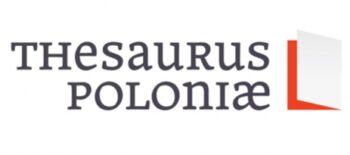 Thesaurus_Poloniae_logo_poziom_detail