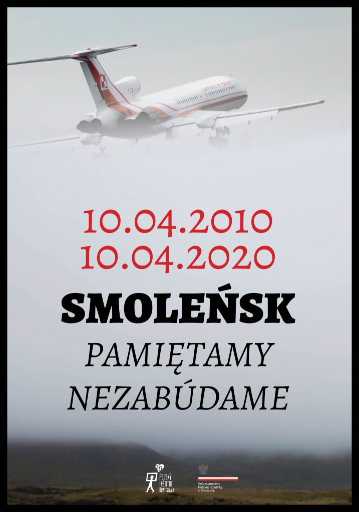 plakat Smoleńsk 10 rocznica katastrofy