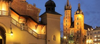 Poland, Krakow, Basilica of the Virgin Mary
