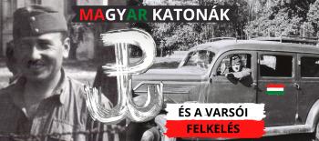 cover Magyar katonák és a varsói felkelés