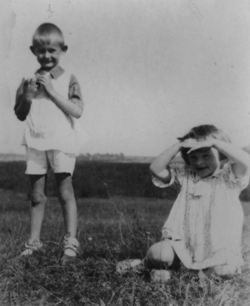 Andrzej és Zosia a sukurczei réten