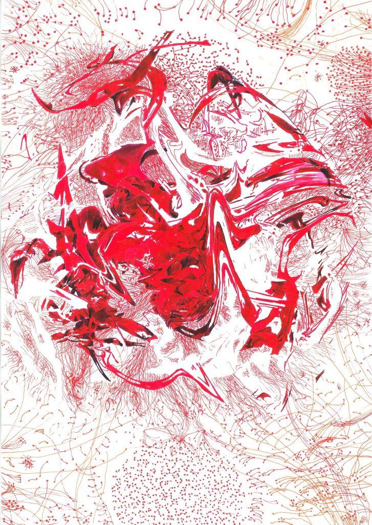 Polskie artystki, polscy artyści, polnische Künstlerinnen in NRW, polnische Künstler in NRW, polnische Künstlerinnen in Düsseldorf, polnische Künstler in Düsseldorf, zeitgenössische Zeichnung, rysunek współczesny, Instytut Polski w Duesseldorfie, Polnisches Institut Düsseldorf, Maess Anand