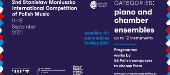 2021-01 MUSIK Stanisaw Moniuszko Competition – Poster_ENG
