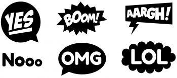Comic-Bubbles (Pixabay)