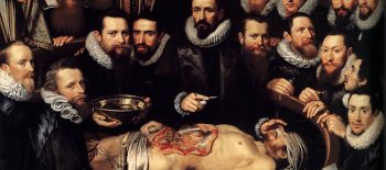 Anatomy Lesson of Dr. Willem van der Meer, 1617_web
