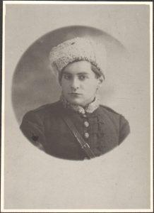 Караль Хілер, Масква, 1916 г. Архіў Музея мастацтваў, Лодзь