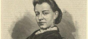 Eliza Orzeszkowa,ksylografia Aleksandra Rogulskiego