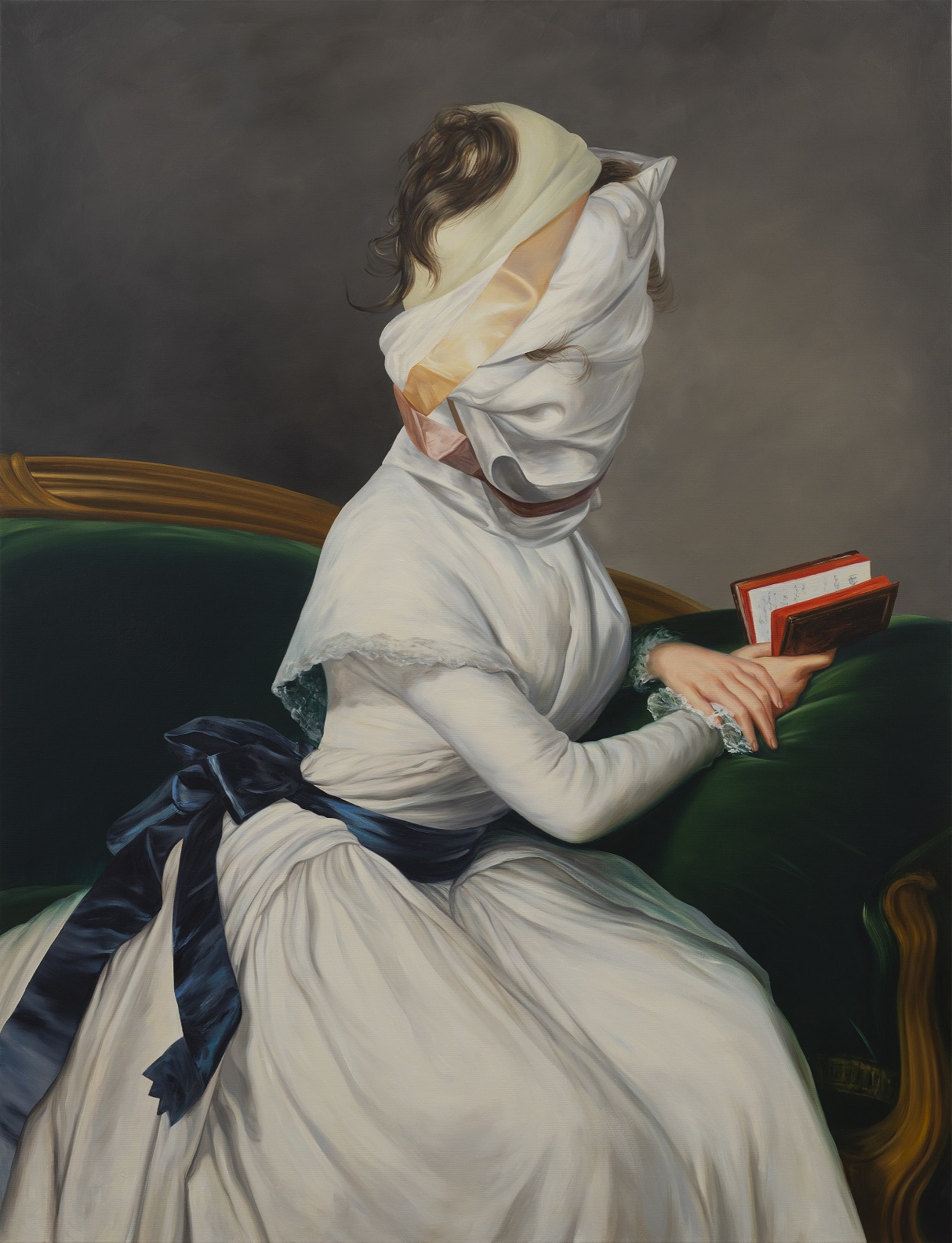 © Ewa Juszkiewicz Untitled (after Élisabeth Vigée Le Brun), 2019 olej na płótnie / oil on canvas 150,00 x 115,00 cm. Courtesy of lokal_30