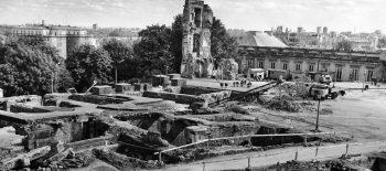 Zamek-50 lat odbudowy