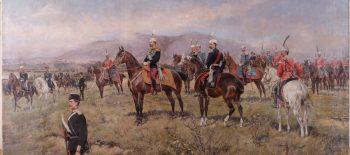 Tadeusz Ajdukiewicz_Княз Фердинанд на маневри 1891 г._small