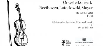 Orkesterkonsert Beethoven, Lutosławski, Mayer (1)