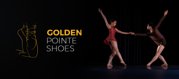 golden pointe shoes competition